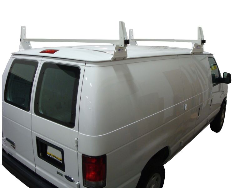 GMC Savana: 2 Bar Aluminum Ladder Utility Rack