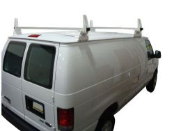 Chevy Express: 2 Bar Aluminum Ladder Utility Rack