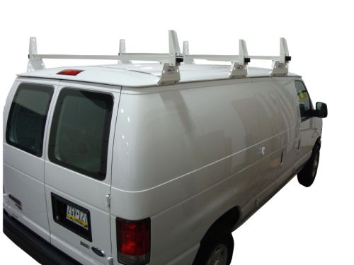 Chevy Express: 3 Bar Aluminum Ladder Utility Rack