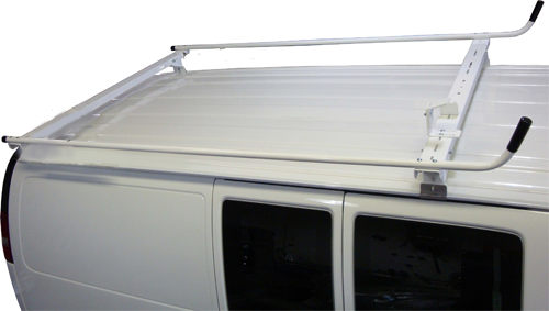 Aluminum Ladder Rack for Ford Econoline - Base Model