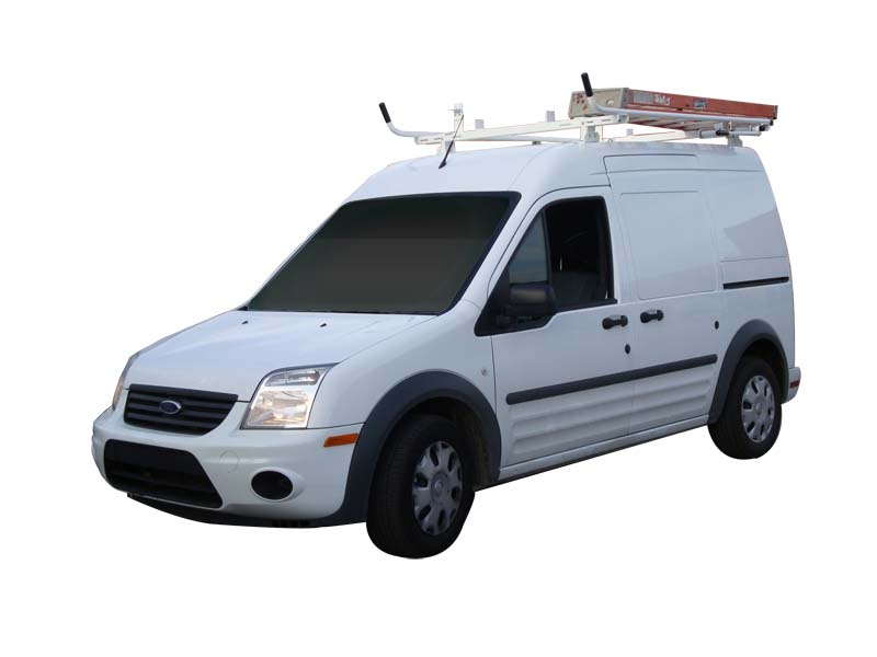 Aluminum Ladder Rack for Transit Connect - Double Lock Down