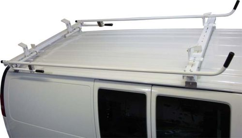 Aluminum Ladder Rack for Chevy Express - Double Lock Down