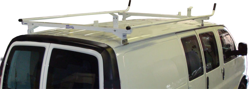 Aluminum Ladder Rack for Full Size Chevy Express - Base Model