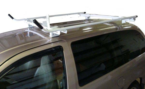 Aluminum Ladder Rack for Minivan - Base Model - Click Image to Close
