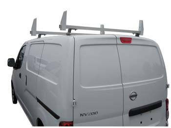 2 Bar Aluminum Ladder Rack - Nissan NV200