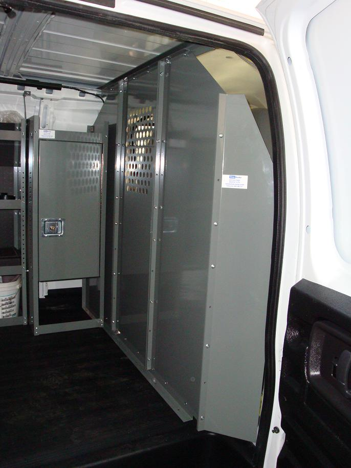 Van Safety Partition Bulkhead