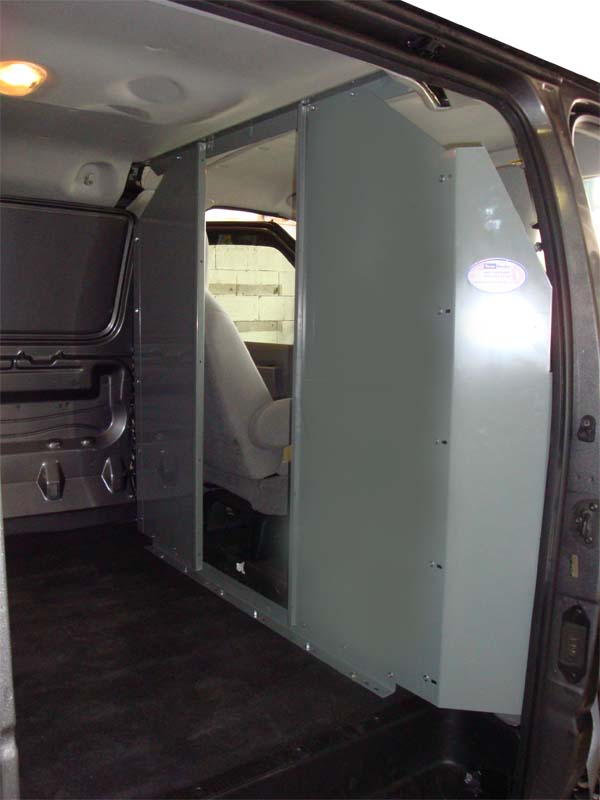 Chevy Express Full Size Van Safety Partition, Bulkhead - Click Image to Close
