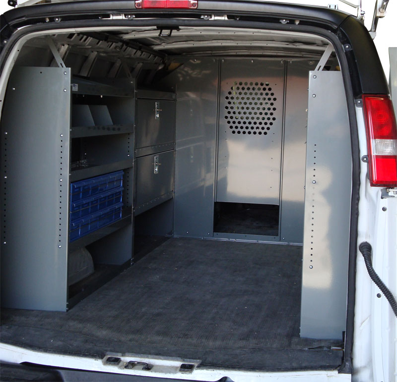 Chevy Express Full Size Van Safety Partition, Bulkhead