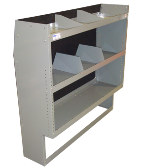 Van Shelving Storage Unit - Space Saver - 45L x 44H x 13D