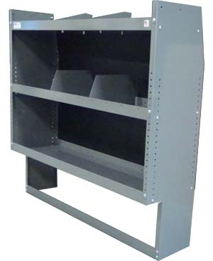 "Nissan NV200 Shelving Storage - Space Saver - 38""Lx44""Hx13""D"