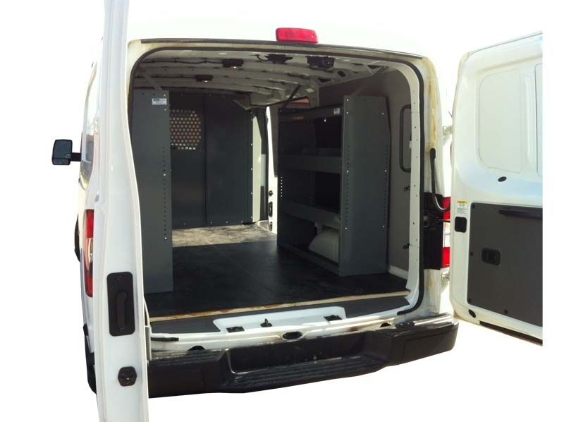 Van Shelving Storage Unit 45L x 44H x 13D - Low Roof Ford Transi
