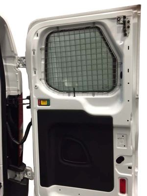 Ford Transit Full Size Van Low Roof 2 Rear Window Safety Screens
