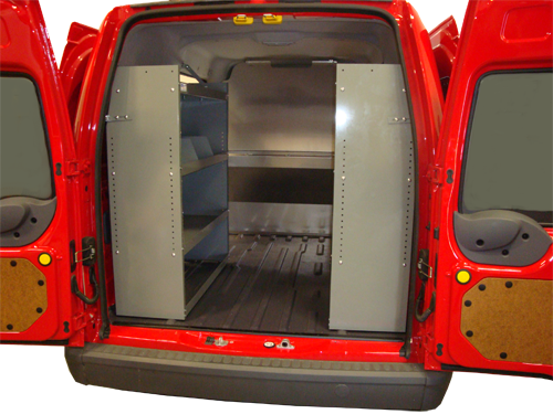 Set of 2 Shelving Storage System Nissan NV200