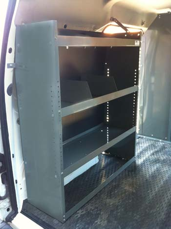 Van Shelving Van Minivan Ladder Racks Van Safety