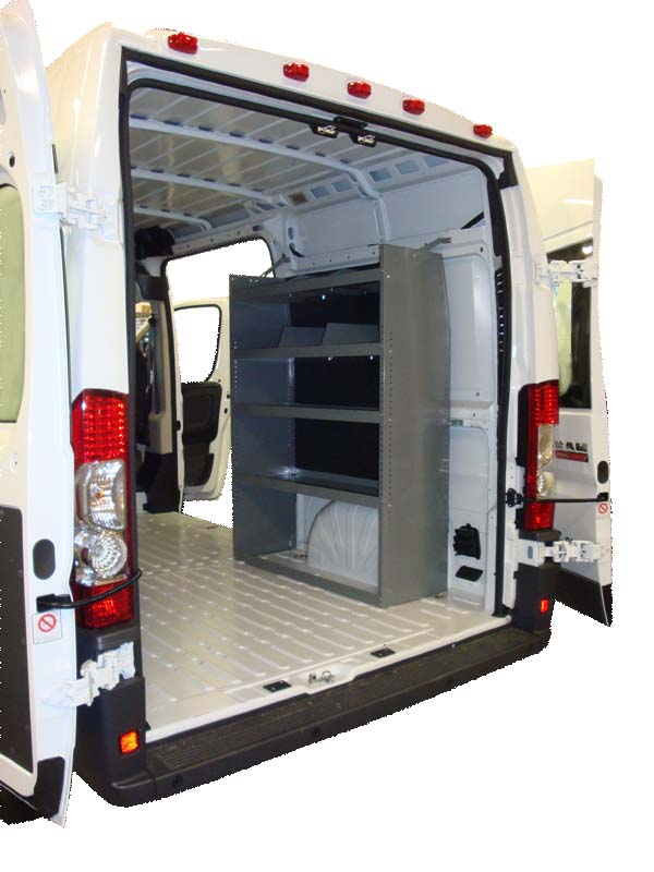 Dodge ProMaster Shelving