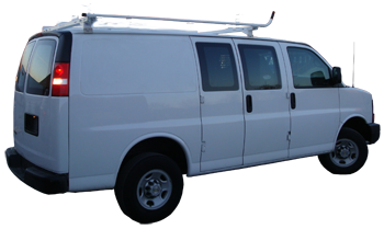 GMC Savana Van Ladder Racks