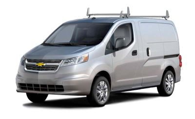 Aluminum 2 Bar Ladder Rack - Chevy City Express